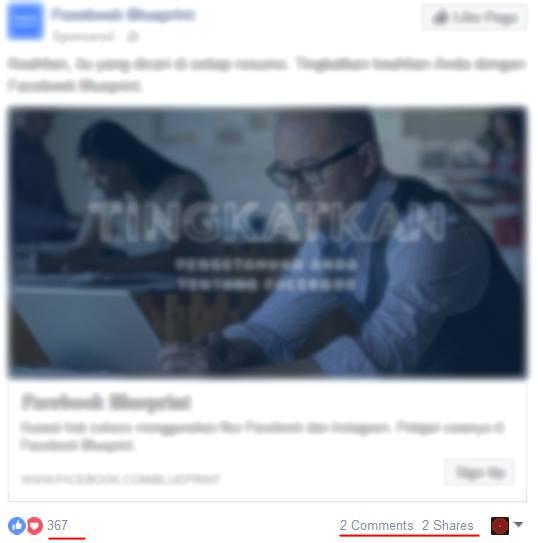 Belajar FB Ads dari Newsfeed 5