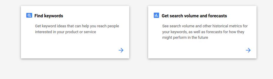 Cara Menggunakan Google Keyword Planner 2019